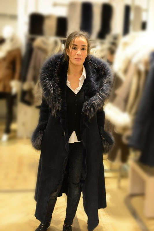 Manteau femme – Agneau de Toscane