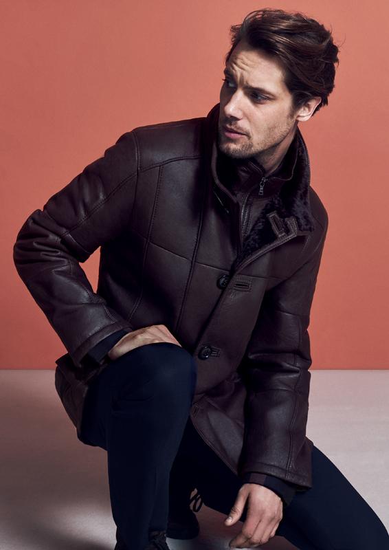 Veste homme – Agneau lainé