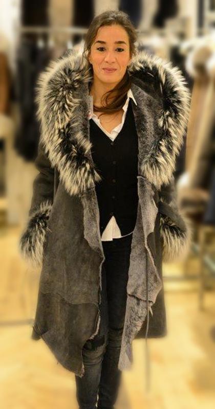 Veste femme – Agneau lainé