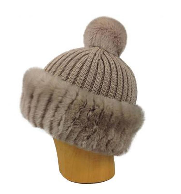 Bonnet tricoté – femme
