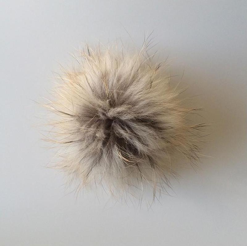 Accessoire femme – Pompon fourrure